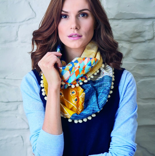 Infinity Scarf Free Sewing Patterns Sew Magazine