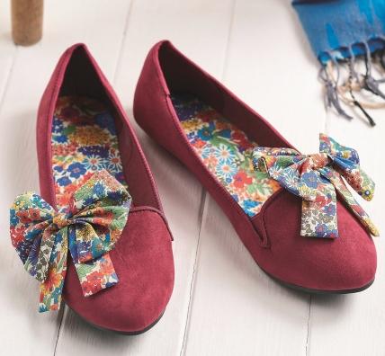 Liberty Shoes Free Sewing Patterns Sew Magazine