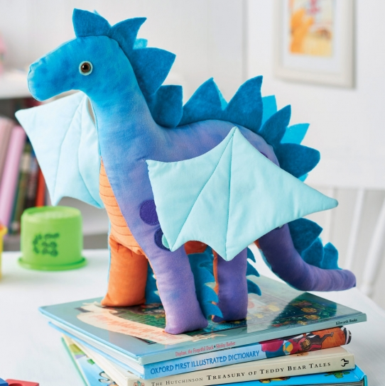 Nigel the Dragon Toy - Free sewing patterns - Sew Magazine