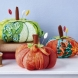 Pumpkin Pincushions