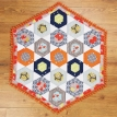 Hexagon Block Patchwork Quilt
