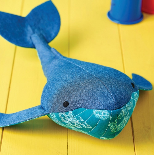 Walter the Whale - Free sewing patterns - Sew Magazine