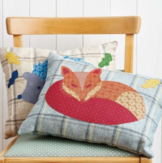 Sew A Woodland Cushion Free Sewing Patterns Sew Magazine