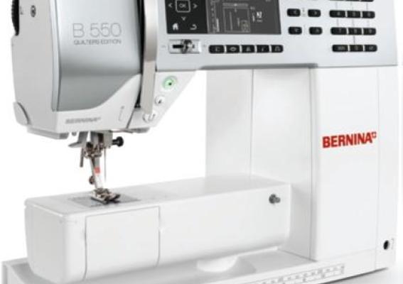 Bernina 550 Qe Sewing Machine Reviews Sew Magazine