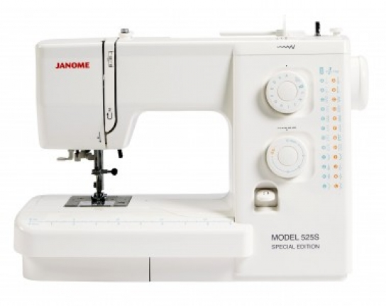 Janome 40S Special Edition Sewing Machine Reviews Sew Magazine Stunning Janome 525s Sewing Machine Review