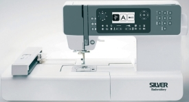 Silver Embroidery machine