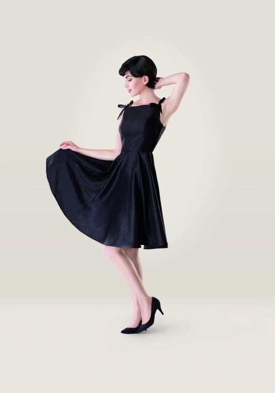 Audrey Hepburn Sabrina Dress Magazine Templates Sew Magazine