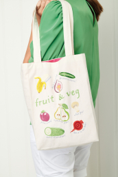 Sew 136 May 20 Fruit & Veg Tote Bag
