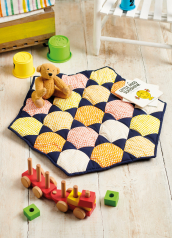 Sew 134 Mar 20 Honeycomb Playmat