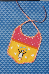 Sew 138 July 20 Penguin Bib