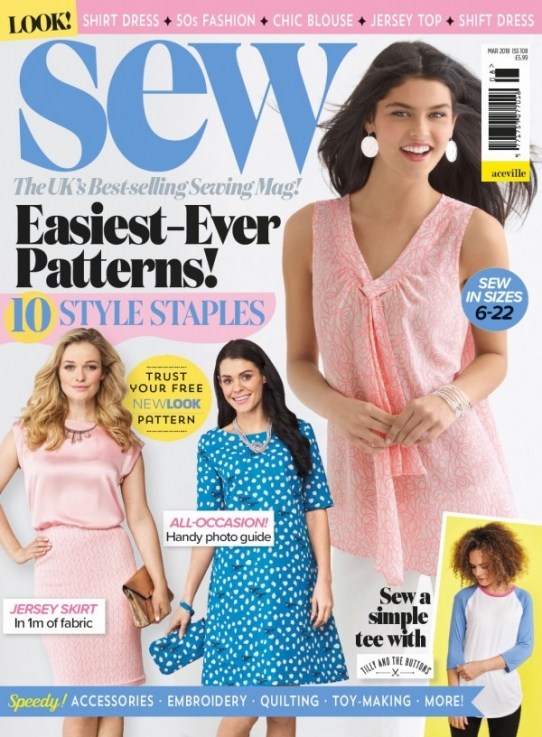 Sew March 2018 (all non-garment templates)