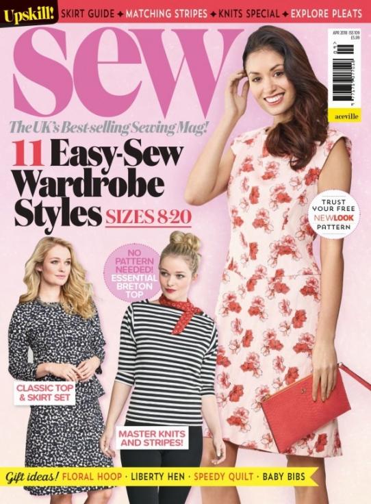 Sew April 2018 (all non-garment templates) - Magazine Templates ...