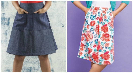 Wendy Skirt & Audrey Skirt - Sew Your Style supplement