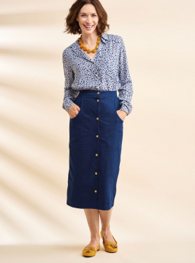 Sew 132 Jan 20 Suzy Midi Skirt