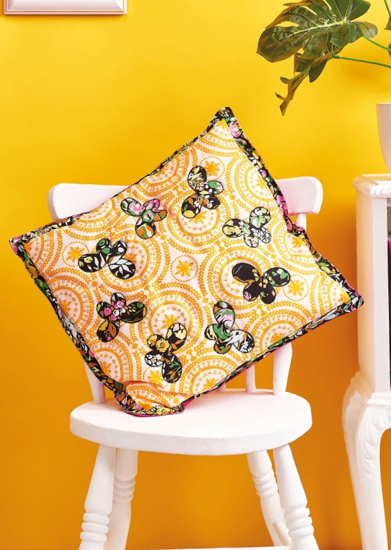 Butterfly Cushion - Sew 113 August 18