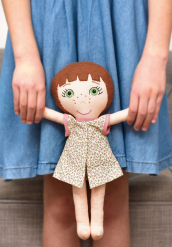 Sew 124 Jun 19 Evie Rag Doll