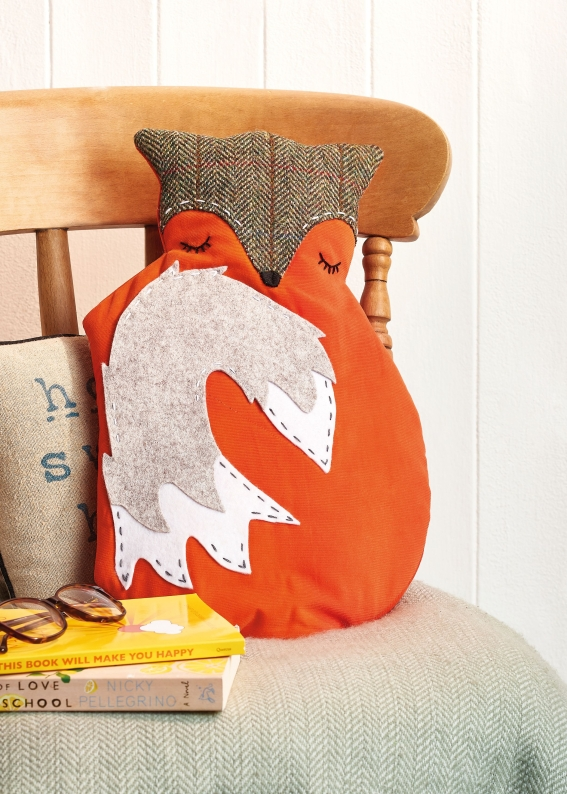 Sew 128 October 19 Fox Hot Water Bottle