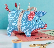 Stitch It May 19 Piggy Pincushion