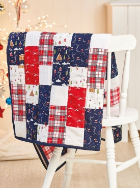 Sew 131 Dec 19 Christmas Quilt