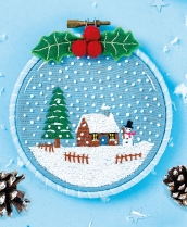 Snow Globe - Sew 117 Nov 18