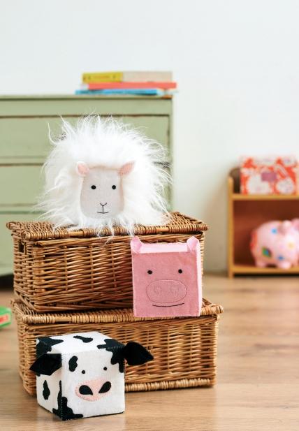 Farmyard playtime blocks
