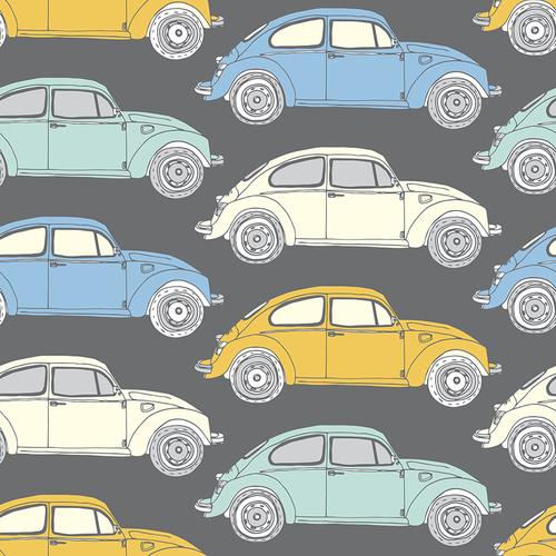 Car print fabric