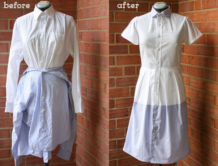 short sleeved shirt dress