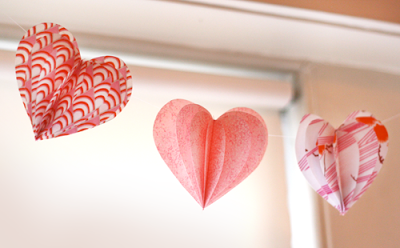 Make a Heart Garland