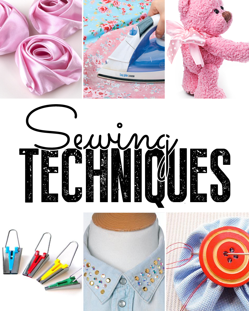 Sewing techniques - How to sew - Sew Magazine