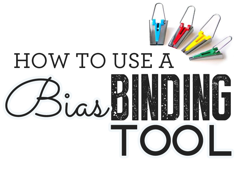 How to use a bias binding tool - How to sew