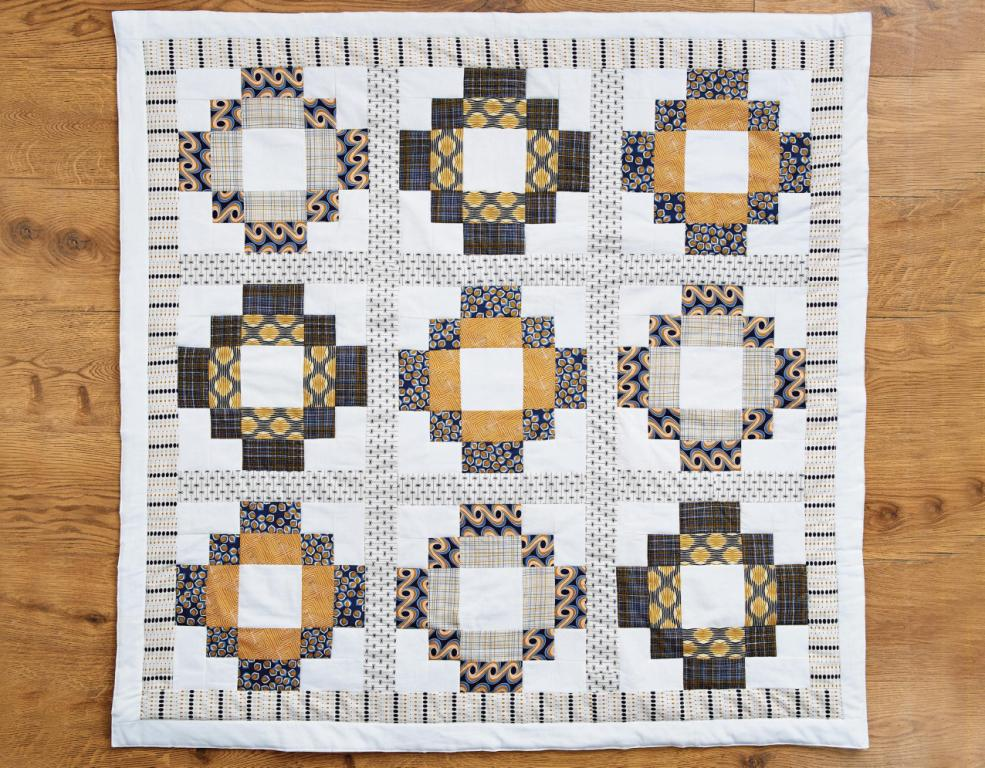 Antique Tile Quilt Free Sewing Patterns Sew Magazine