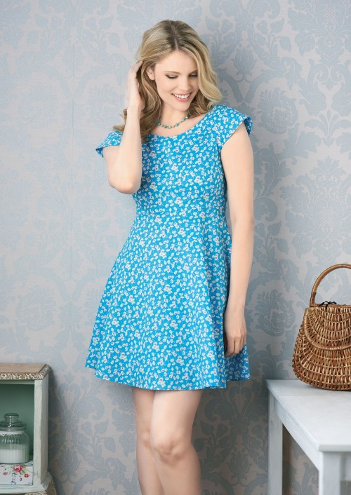 Sewing Bee Betty Dress Free Sewing Patterns Sew Magazine
