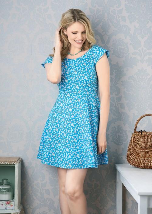Sewing Bee Betty Dress Free Sewing Patterns Sew Magazine