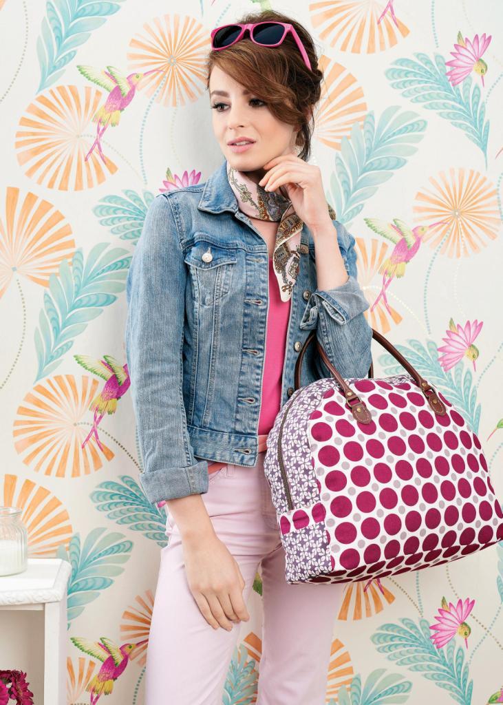 Bowler Bag Free Sewing Patterns Sew Magazine