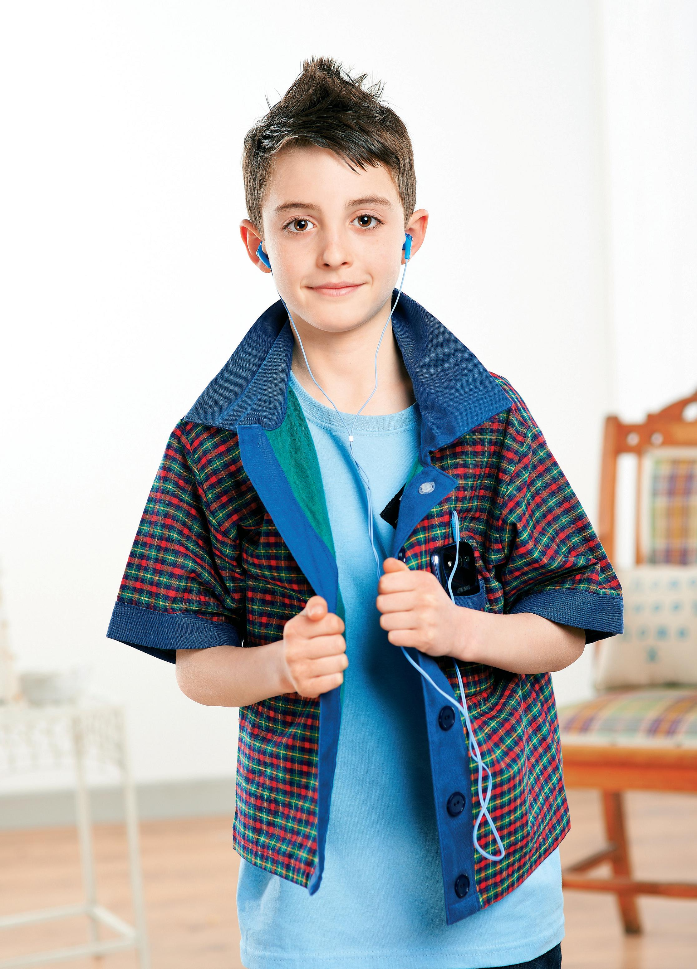 Young Boy S Casual Checked Shirt Free Sewing Patterns