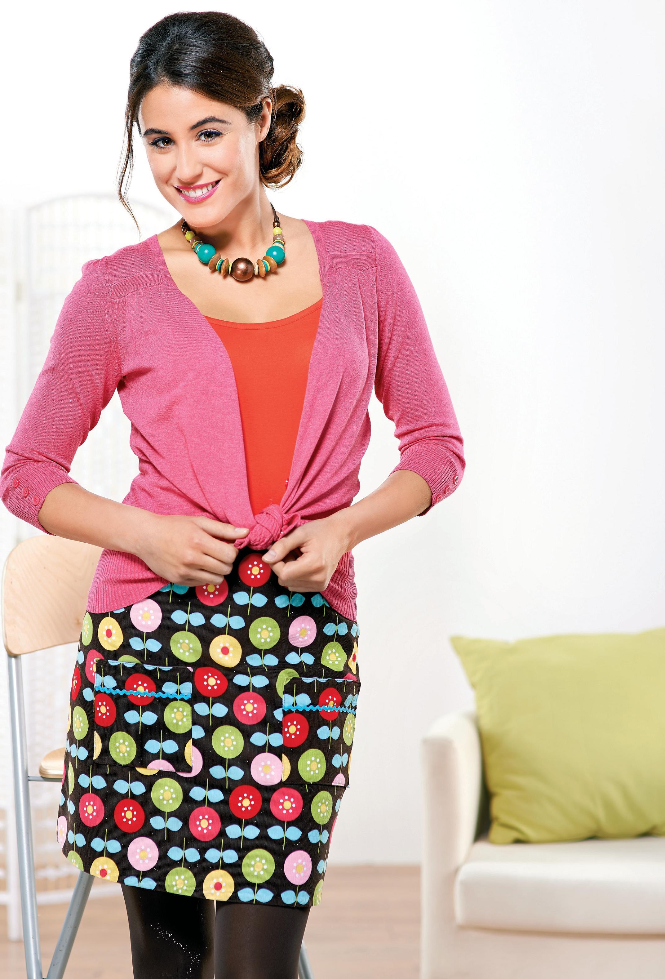 Corduroy Mini Pocket Skirt Free Sewing Patterns Sew