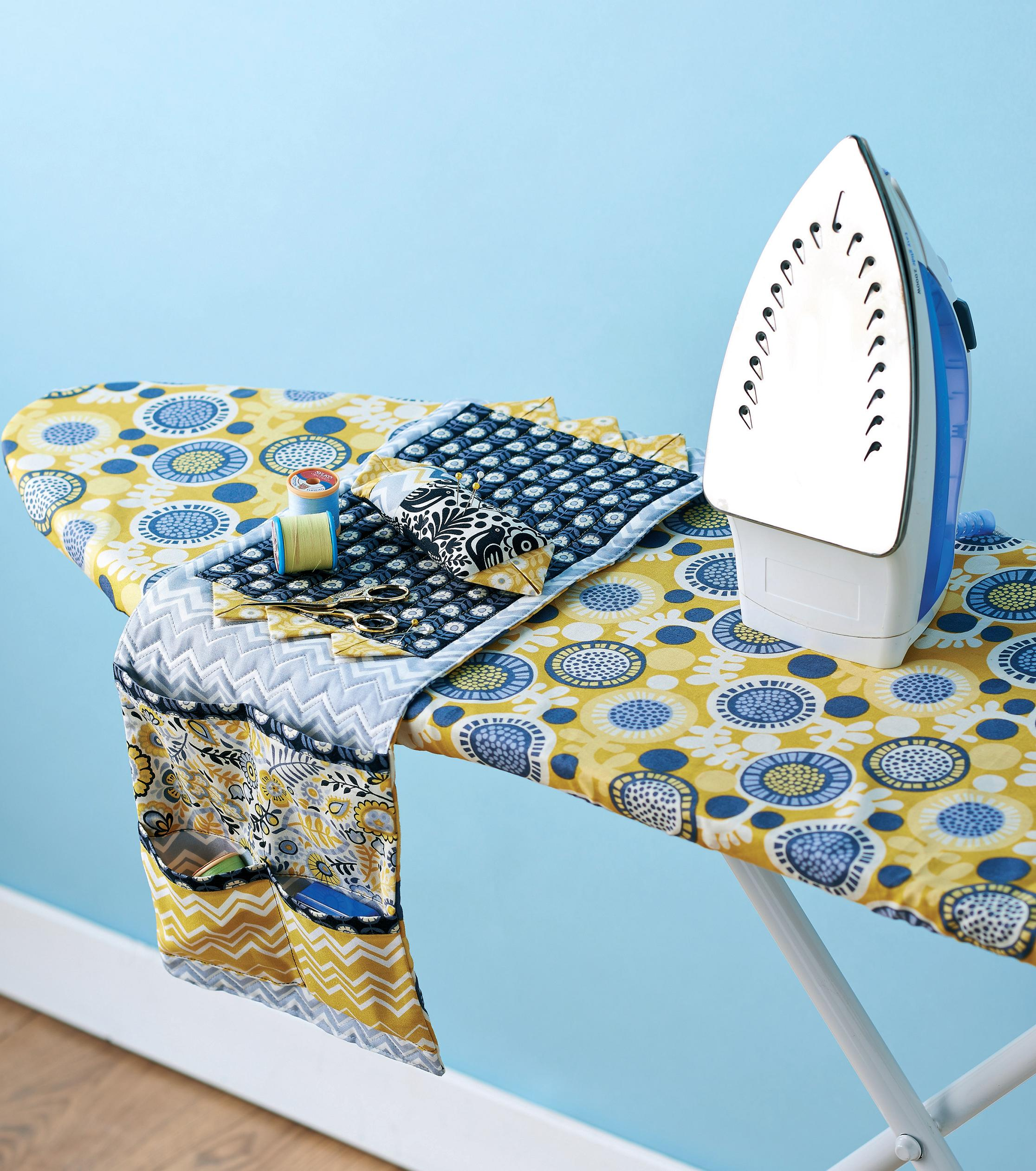 ironing board cover and caddy free sewing patterns sew. Black Bedroom Furniture Sets. Home Design Ideas