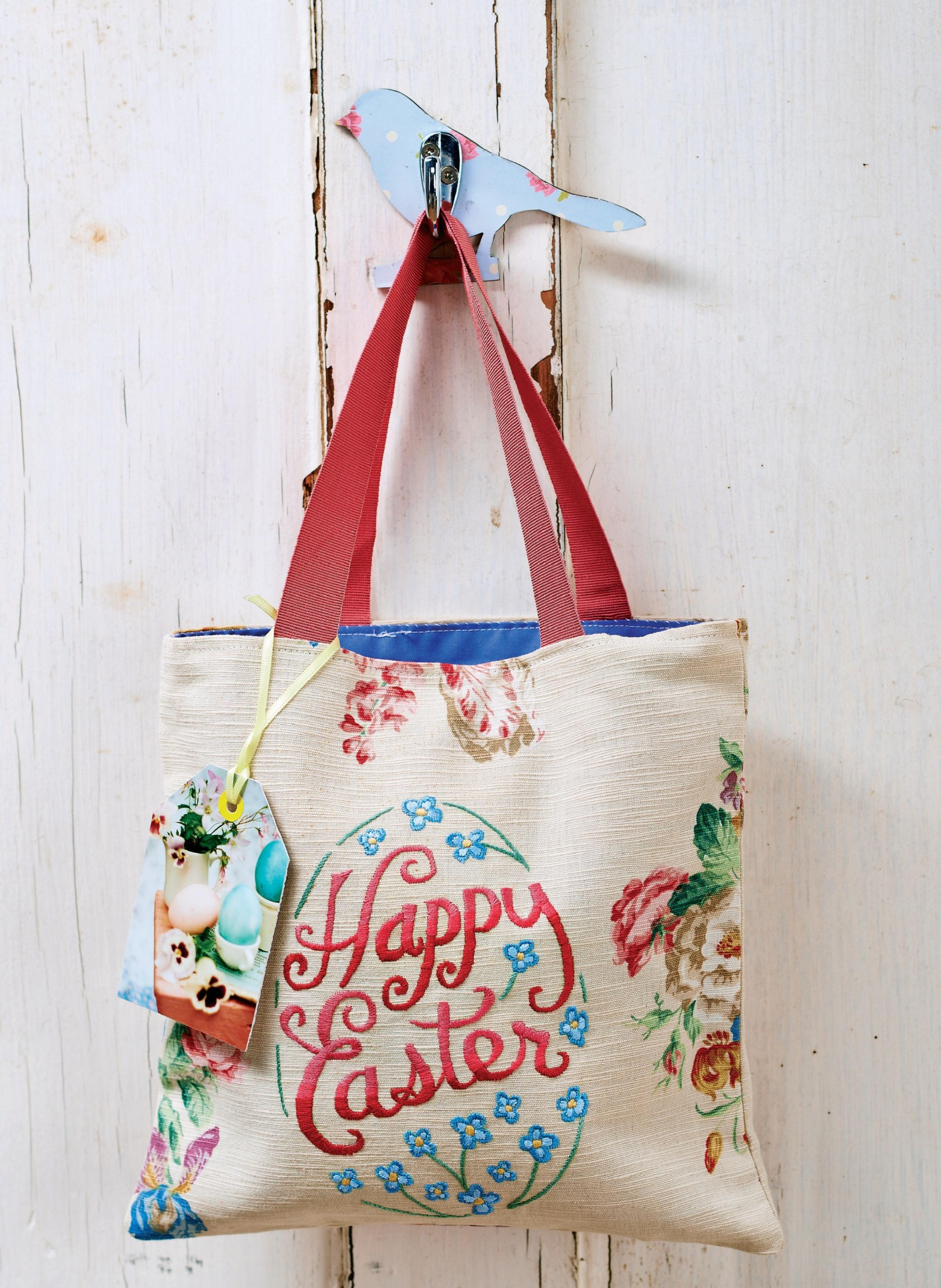 Easter Embroidered Bag And Egg Cosies Free Sewing