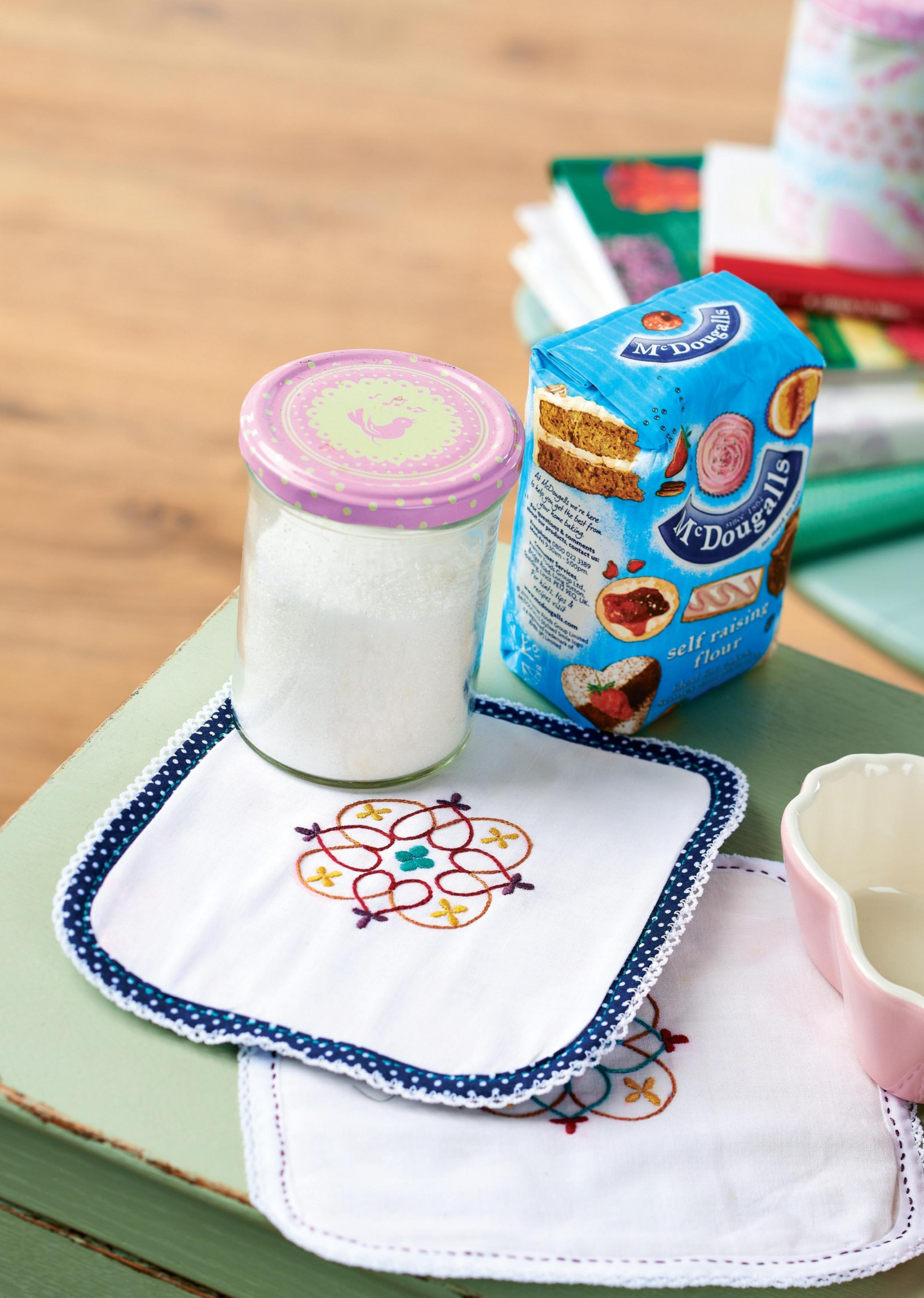 Embroidered Pot Holder Free Sewing Patterns Sew Magazine