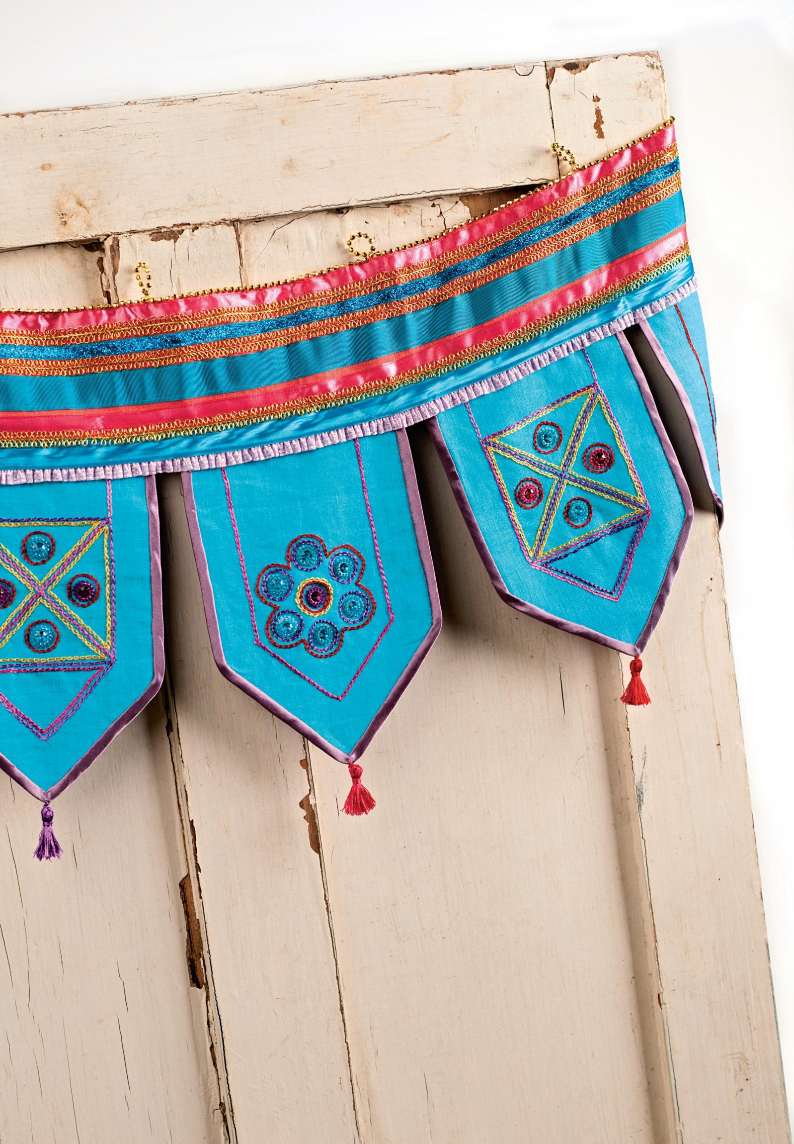 Exotic Bollywood Style Bunting Free Sewing Patterns