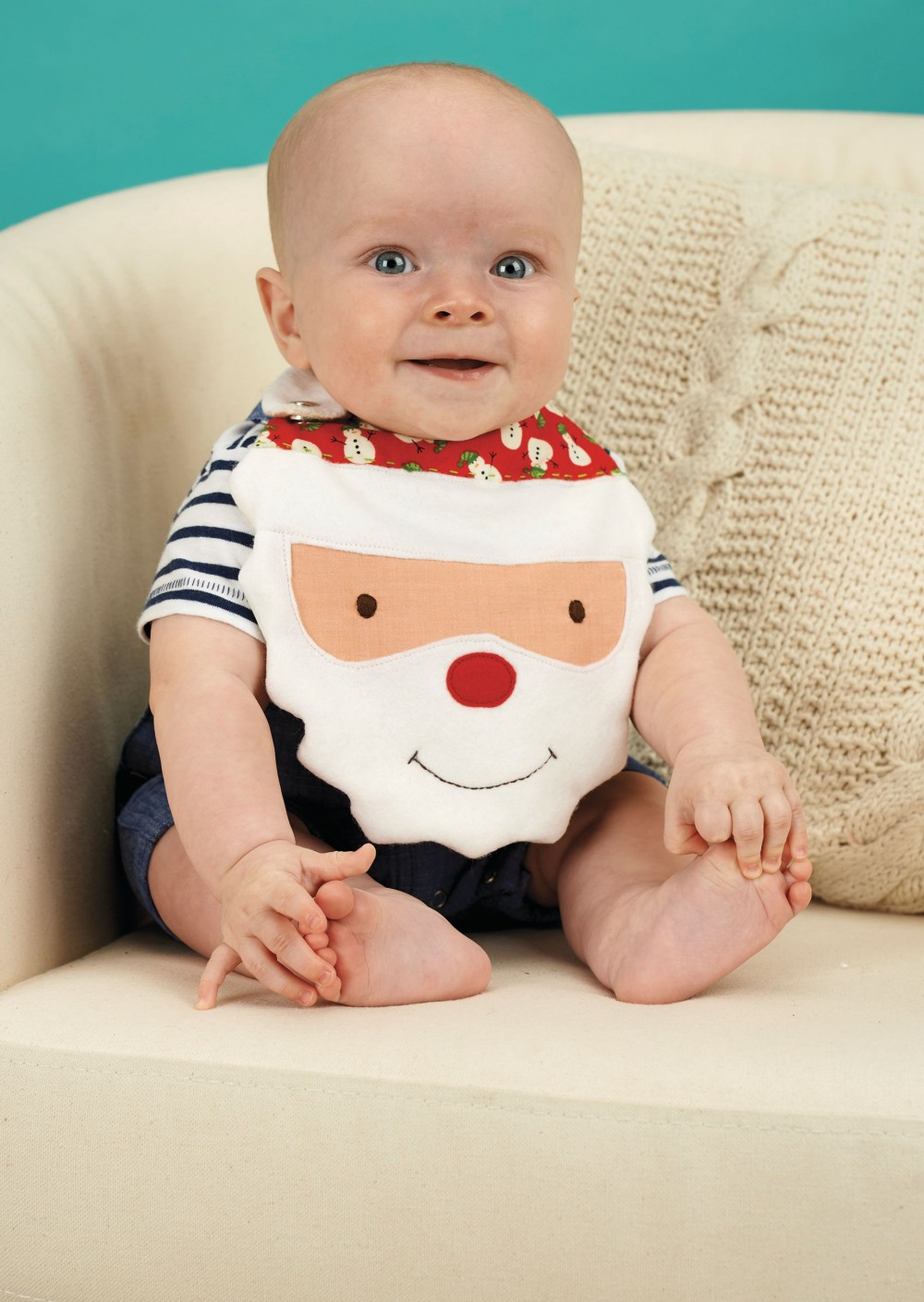 Festive Baby Bibs Free Sewing Patterns Sew Magazine