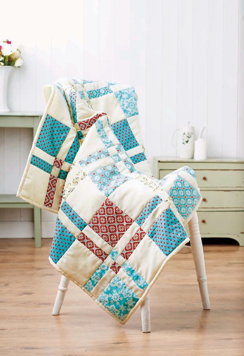 Sew A Disappearing Four Patch Block Quilt Free Sewing