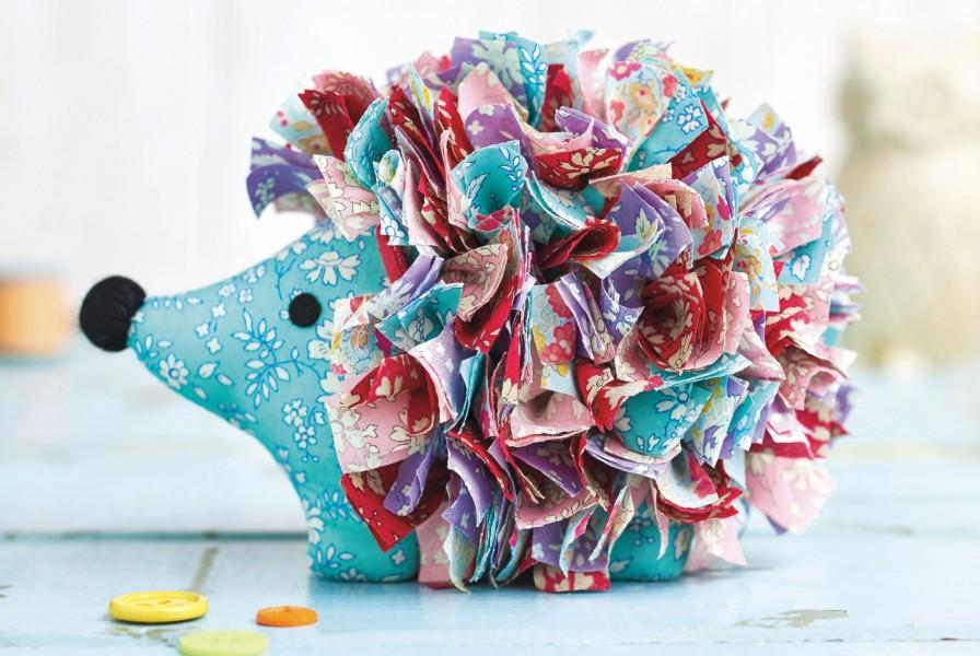 Liberty Hedgehog Free Sewing Patterns Sew Magazine