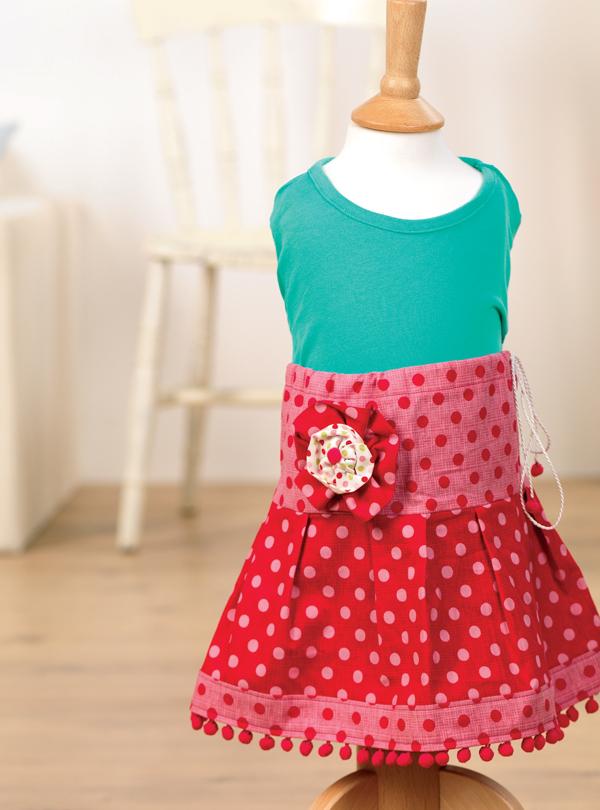 little girl u2019s skirt - free sewing patterns
