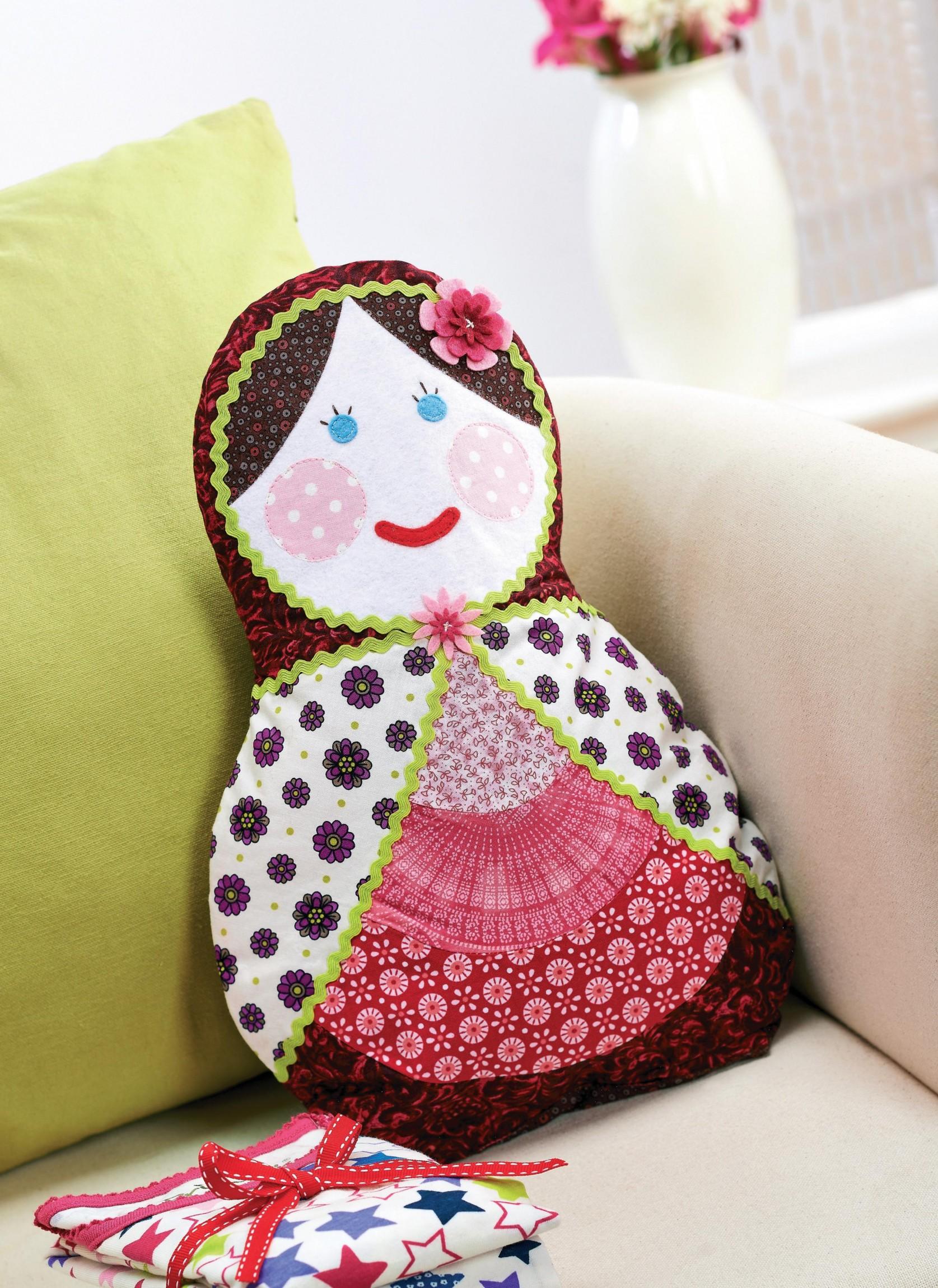 Matryoshka Russian Doll Pyjama Case Free Sewing Patterns