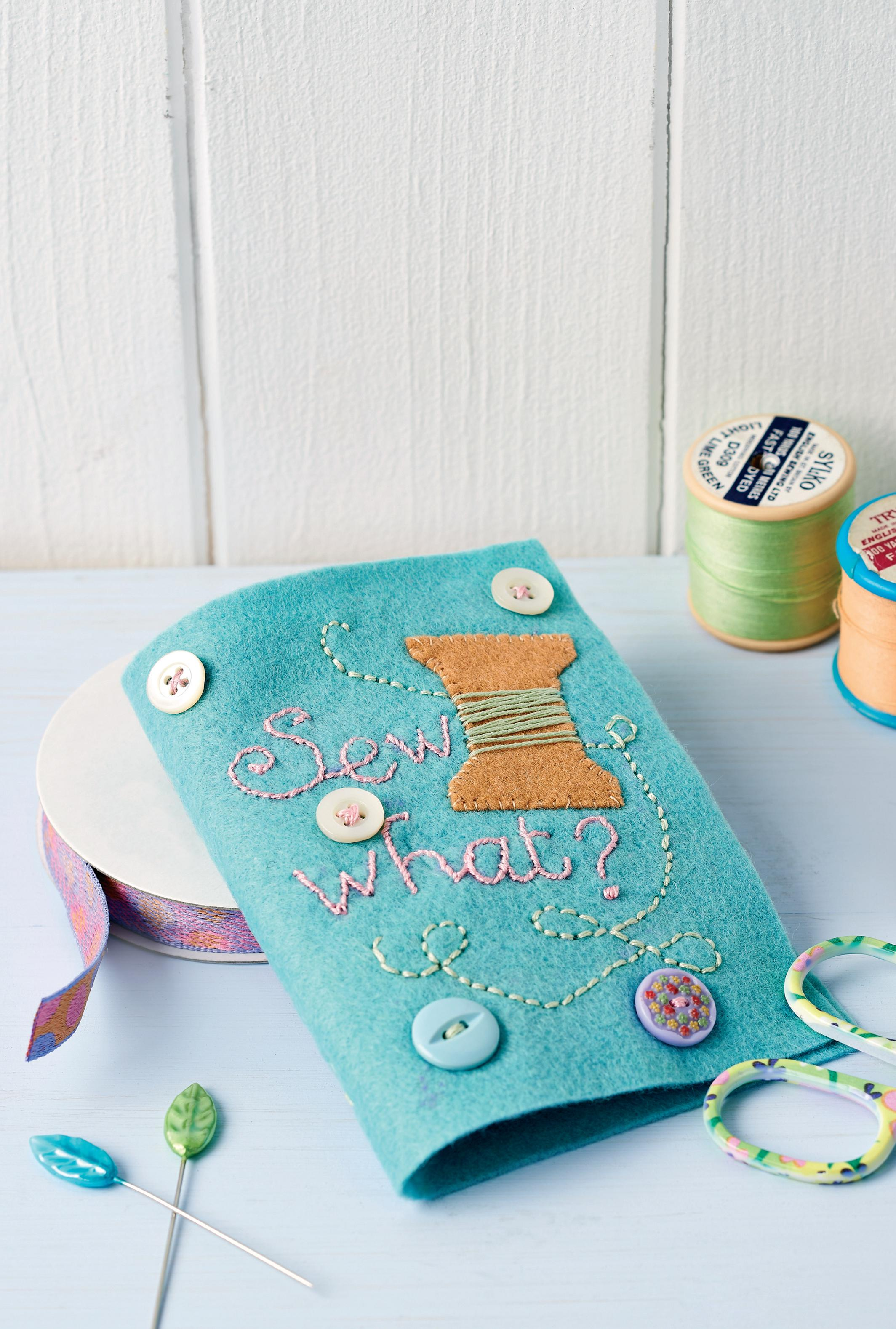 Lunchtime Make Felt Needlebook Free Sewing Patterns