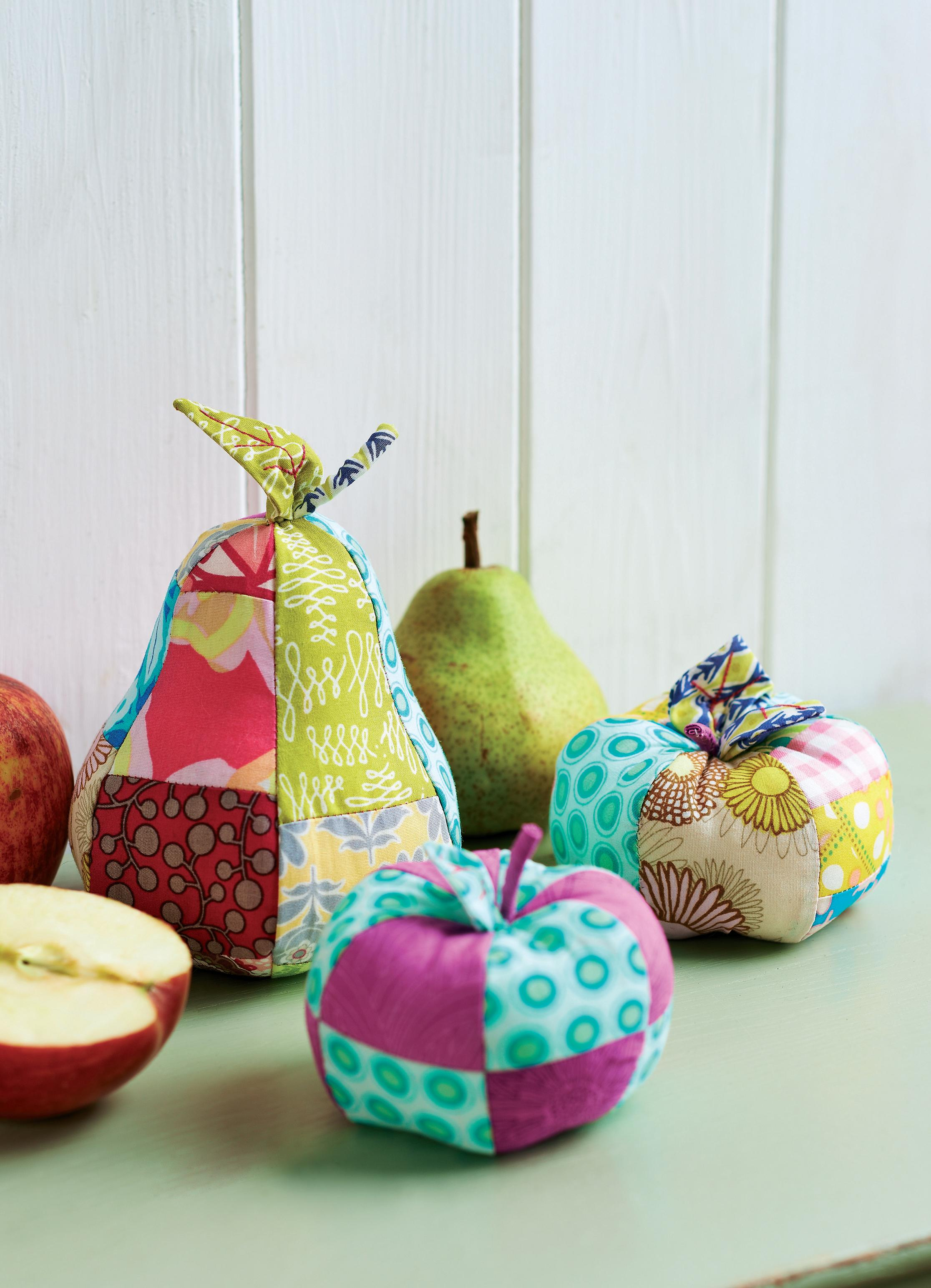 Art Gallery Fabric Patchwork Fruit Free Sewing Patterns