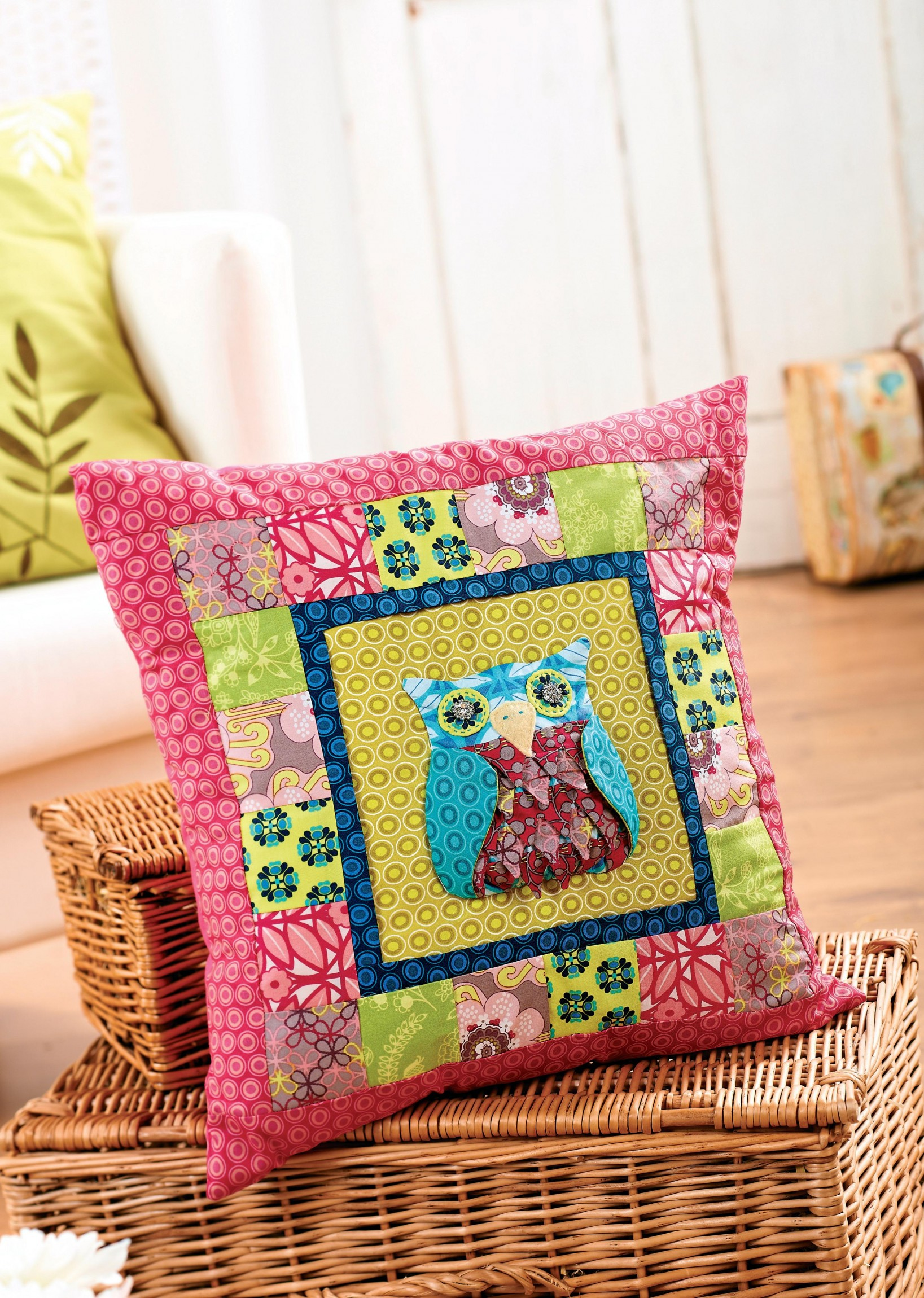 Patchwork Owls Free Sewing Patterns Sew Magazine