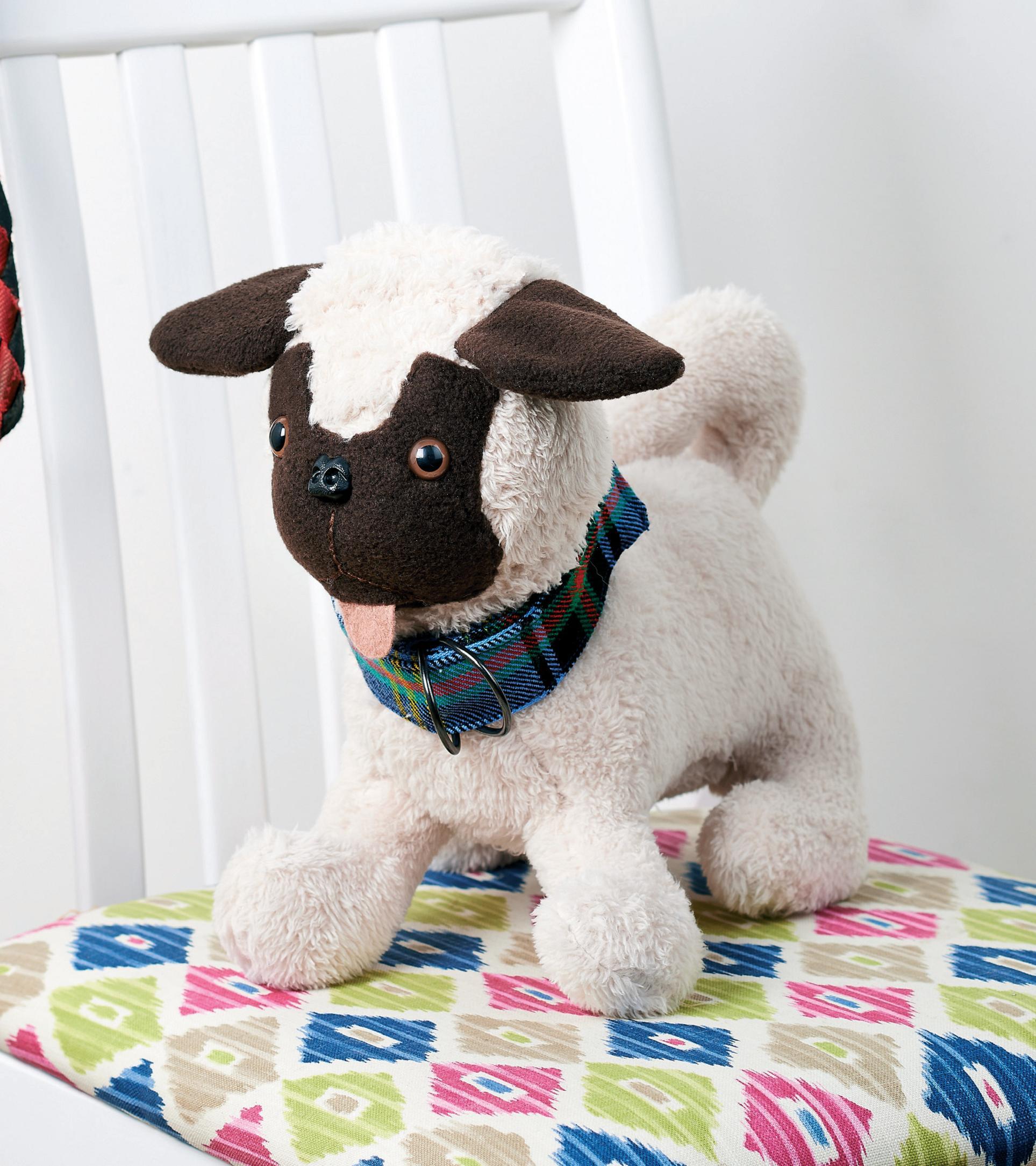 Pug Dog Toy Free Sewing Patterns Sew Magazine