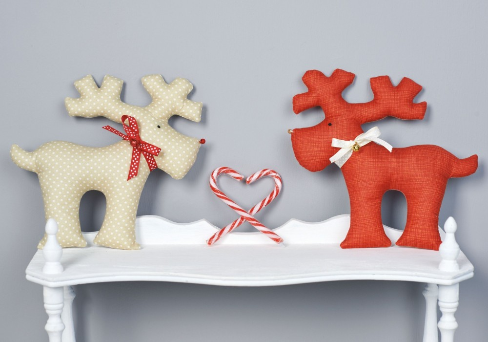 Heirloom Reindeer Toys Free Sewing Patterns Sew Magazine